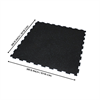"""Additional images for Interlocking Rubber Mat 40"""" x 40"""" x 10mm"""