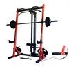 AmStaff TP007 Half Rack System with Lat/Pull Down Attachment