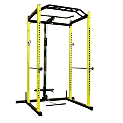 AmStaff DF-1161A Power / Squat Rack with Lat/Pull Down Attachment
