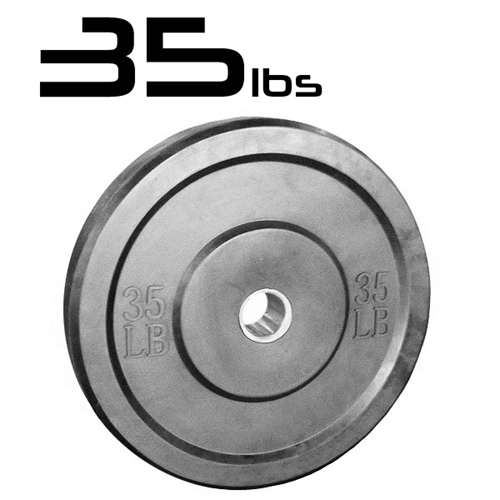 35lb Bumper Weight Plates 2 Inch
