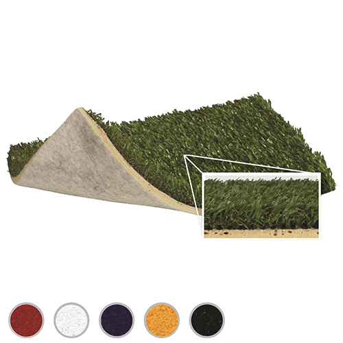 Commercial Indoor Turf with 8mm Underpad - Green