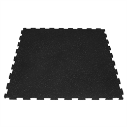 "Interlocking Rubber Mat 40"" x 40"" x 10mm"