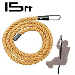 AmStaff 15ft Climbing Rope