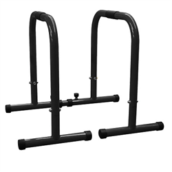 "AmStaff Parallette Bars - Black - 1.5"" Tube - TU008C"