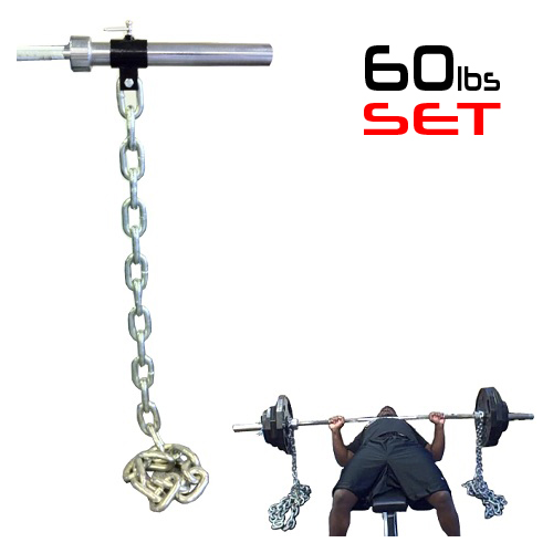 Weight Lifting Chains - 60lbs