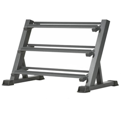 AmStaff TR007 3-Tier Commercial Dumbbell Rack Feature 60 Inch