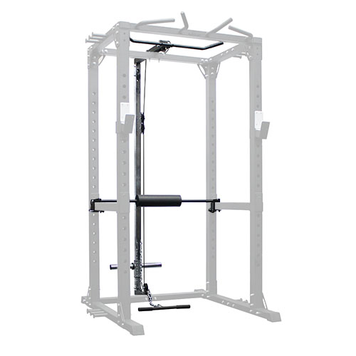 Lat/Pull Down Attachment for AmStaff 370 Power / Squat Rack
