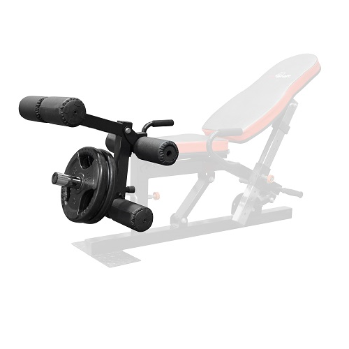 Leg Extension Leg Curl Attachment for Workout Bench TB011B