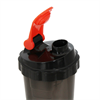 Additional images for AmStaff Fitness Shaker Bottle with 2 Storage Jars