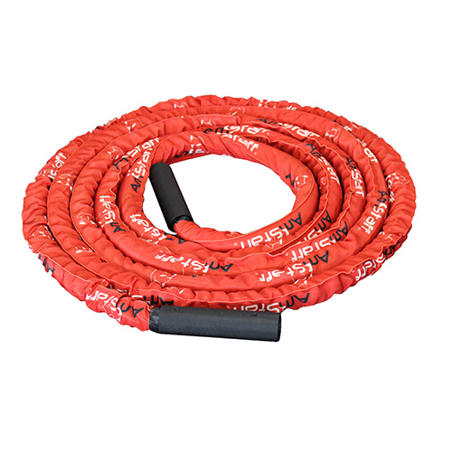 AmStaff Fitness 30' Premium Undulation Rope / Battle Rope with Sleeve 1.5""
