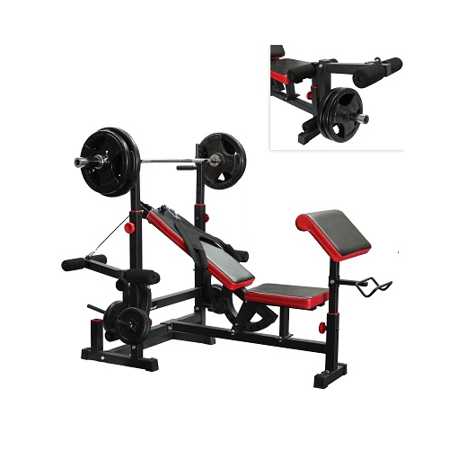 AmStaff Fitness DF-1323 Multifunctional Press Bench