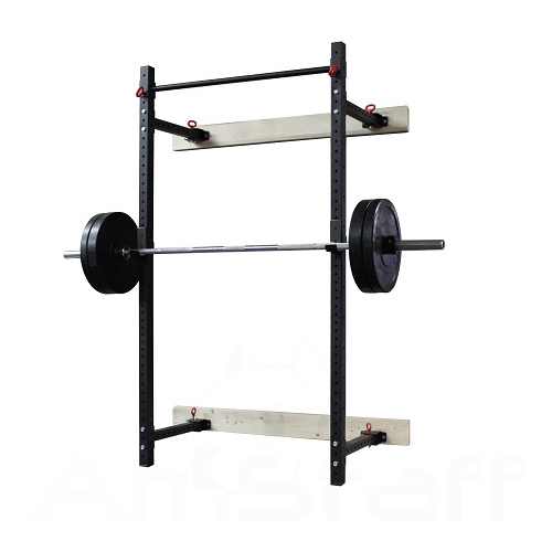 Amstaff TP019W Folding Wall Mount Squat Rack