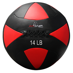 AmStaff Fitness 14lbs Commercial Wall Ball