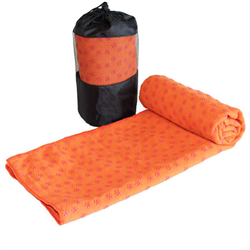 Yoga Towel - Orange