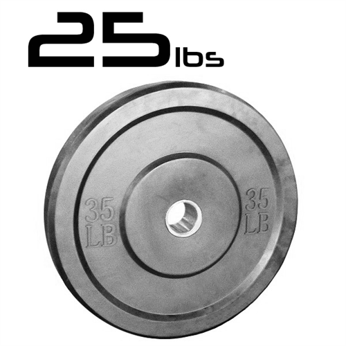 25lb Bumper Weight Plates 2 Inch