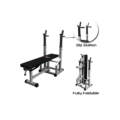 AmStaff TB018A Multifunctional Adjustable Flat-Incline Press Bench