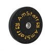 Additional images for 370lbs Crumb Rubber Bumper Plate Weight Set