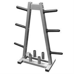 AmStaff A-Frame Olympic/Standard Plate Tree & Bar Holder