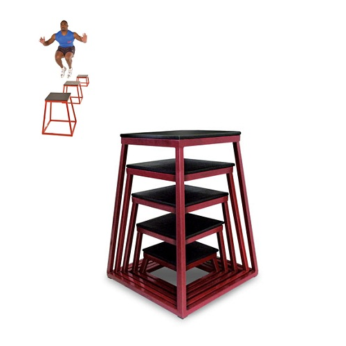 "Plyometric Box Set: 12"", 18"", 24"", 30"", 36"""