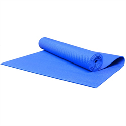"68"" x 24"" PVC Yoga & Pilates Mat - Blue"