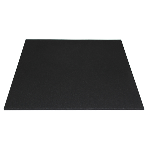 "Rubber Mat 40"" x 40"" x 15mm - Black"