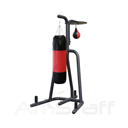 AmStaff TBX002 Boxing Stand with Adjustable Speedball & Heavy bag