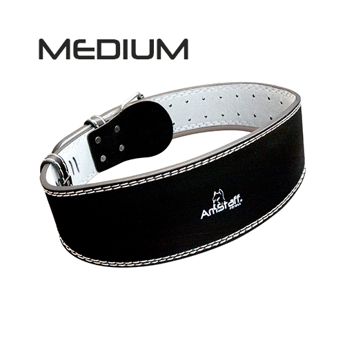 Leather Weight Lifting Belt - Medium