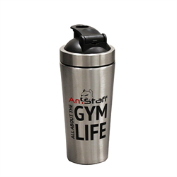AmStaff Fitness Stainless Steel Shaker Bottle