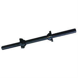 18 Inch Standard Dumbbell Handle - Threaded