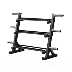 AmStaff Fitness TR099 Dumbbell and Weight Plate Rack 60 Inch