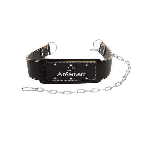 AmStaff Fitness Premium Leather Dip Belt