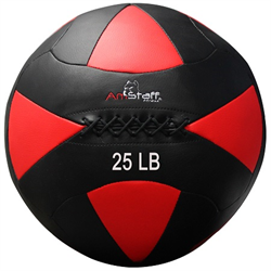 AmStaff Fitness 25lbs Commercial Wall Ball