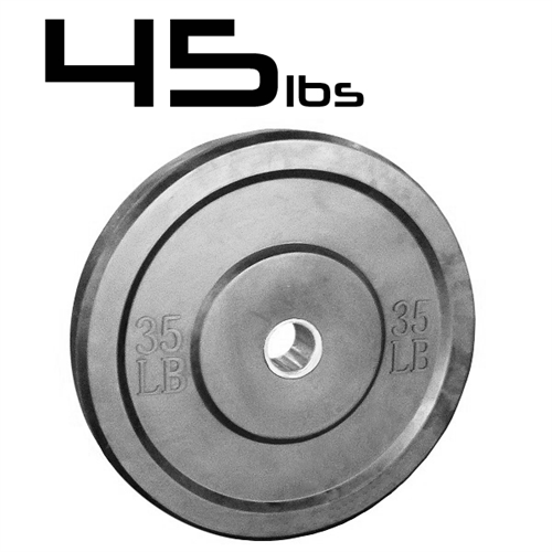 45lb Bumper Weight Plates 2 Inch