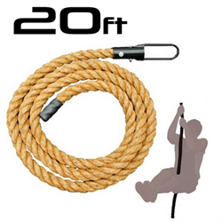 AmStaff 20ft Climbing Rope