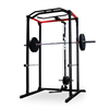 Additional images for AmStaff Fitness TP032E Power / Squat Rack with Lat/Pull Down Attachment