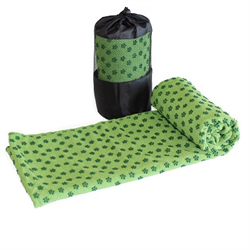 Yoga Towel - Green