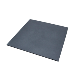 "Rubber Mat 40"" x 40"" x 15mm - Grey"