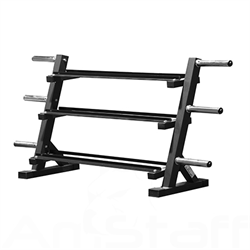 AmStaff Fitness TR099 Dumbbell and Weight Plate Rack 80 Inch
