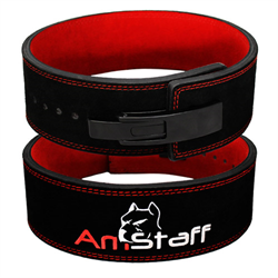 AmStaff Fitness 10mm Lever Buckle Powerlifting Belt - Large