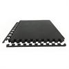 Additional images for Black Heavy-Duty Interlocking Foam Tiles - 10mm (4-Pack)