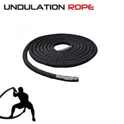 50' Undulation Rope / Battle Rope with Sleeve 1.5""