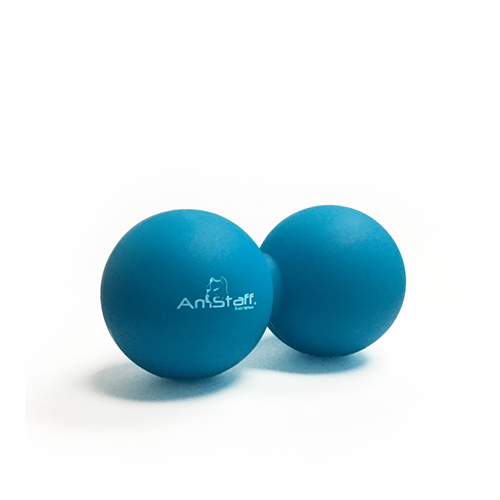 AmStaff Fitness Double Ball Massage Roller