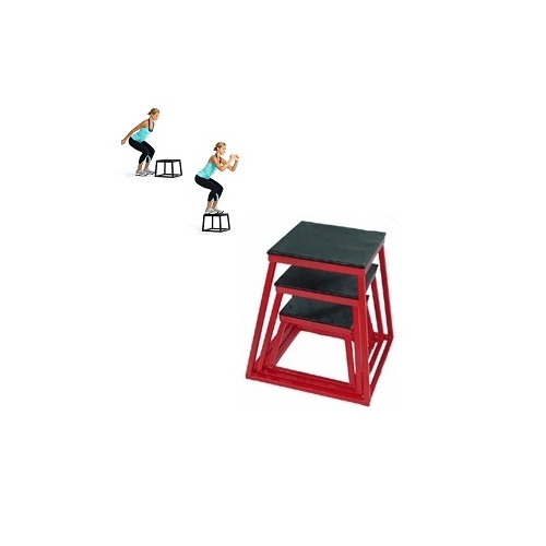 "Plyometric Box Set: 12"", 18"", 24"""