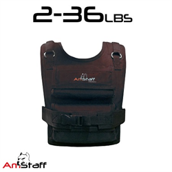 From 2lbs to 36lbs Commercial Adjustable Athletic Weighted Vest