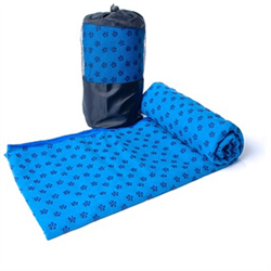 Yoga Towel - Blue